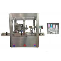 China Touch Screen Perfume Filling Machine With PLC Control System 2.5 Ounce on sale