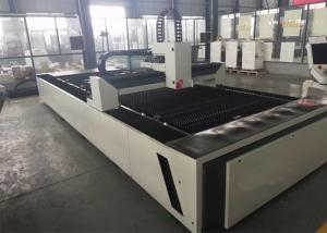 China Double Drive Fiber Laser Cutting Machine / Laser Metal Cutting Machine on sale