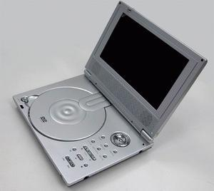 China 8panel portable dvd with Analog TV,DVB-T,FM transmitter,Game,MPEG4, DIVX, USB, Card Reader function on sale
