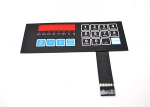 China Flat Type Single Shielding Sealed Membrane Switches With Trasparency Window on sale