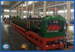 PLC System Steel Corrugated Side Panel Silo Roll Forming Machine High Speed 12-15m / Min