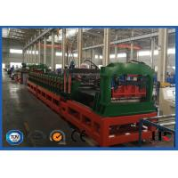 China PLC System Steel Corrugated Side Panel Silo Roll Forming Machine High Speed 12-15m / Min on sale