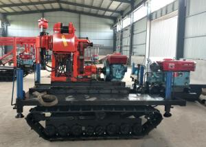 China Track Mounted Hydraulic Water Well Drilling Machine XY-200 For Mining Exploration on sale