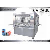 Tea / Coffee Automatic Liquid Filling Line , High Viscosity Filling Machine 5.5Kw