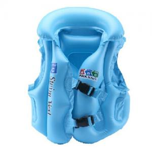 China Inflatable baby swim vest,safety swimming life jacket Swimwear on sale