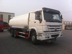 China Fuel Delivery Tanker Truck WD615.47 Model Engine Type High Performance on sale
