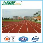 Sports Athletic Rubber Running Track Material Surface Full Pu Customized
