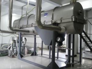 China SUS304Vibrating Fluid Bed Dryer Machine with steam heating,electrical heating  for drying sugar ,salt, powder granule on sale