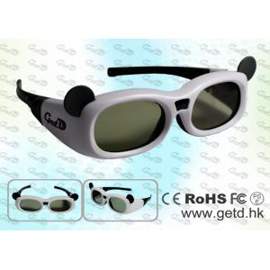 China USB rechargeable children style 3d active glasses for TV on sale