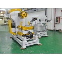 Hydraulic  Decoiler And Straightener Feeder With Power Press Line Machines
