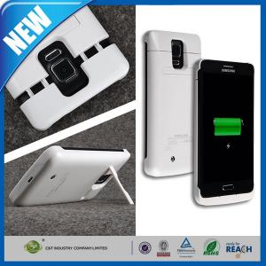 China External Cell Phone Battery Case , Backup Charger Galaxy S5 Battery Case 4800mAh on sale