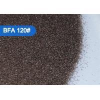 China Shoe Molds Cleaning Brown Aluminium Oxide Blasting Media Sandblasting Abrasive 90# - 220# FEPA on sale