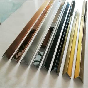 China Brushed Finish Matt Stainless Steel Trim Strip 201 304 316 Wall Frame Ceiling Wall Frame Ceiling on sale