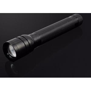 China Shockproof Aluminum LED Flashlight / High Power LED Torch Light Waterproof For Police on sale