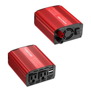 China 300W Car Battery Power Inverter DC 12V to AC 110V Converter with Dual 3.1A Dual USB Ports on sale