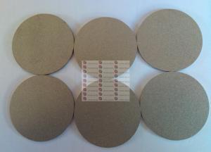 China Tantalum porous titanium electrode coating plate, titanium porous sintered metal filter pl on sale