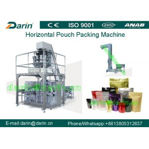China Juice liquid spout pouch packing Machine / food pouch packaging machines on sale