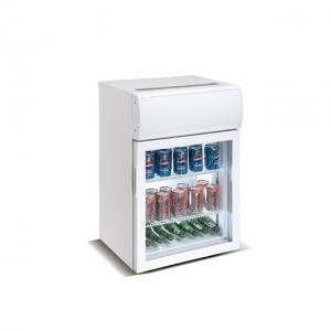 China Hotel Ice Cream Small Countertop Display Fridge on sale