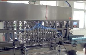 China Honey Butter Paste Soy sauce filling machine , High viscosity liquid Bottling line on sale