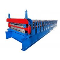 China Cutting Galvanized Corrugated Metal Sheet Roofing Wall Panel Roll Forming Machine on sale
