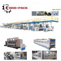 2018 hot sale 3/5/7 Ply Corrugated Cardboard Production Line for carton box