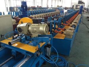 China Awning Tube Round Pipe Roll Forming Machine For Sunshade Curtain System on sale
