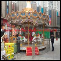 More than 10 years experience in fashion style luxury carousel 8 seats carousel horses