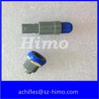 China 4pin many color option medical plastic connector lemo alternative 1P series male and female on sale