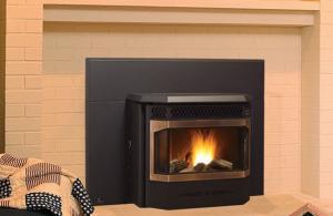 China Cast Iron Wood Burning Fireplace Inserts , Ventless Fireplace Insert Fashionable Design on sale