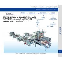 China Hydraulic single spindle veneer rotary lathe on sale