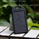 5000mAh portable universal usb multi solar mobile charger