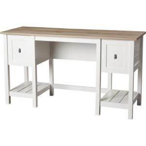 China White Hign Glossy Hotel Writing Desk Plywood Top Customized For Home / Hotel on sale