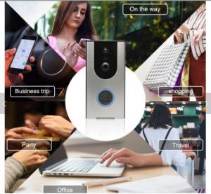 China 300m Wireless digital door chime 36 melody AC/DC wireless door bell Waterproof IP 54 Wireless doorbell on sale