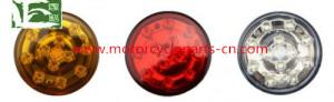 China Recreational Vehicle LED Turn Light Round Auto Spare Parts ADR Approval Tail Lamps on sale