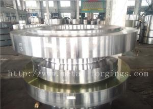 China Duplex Stainless Steel F53 Ball Valve Cover / Body Forging  Blanks on sale
