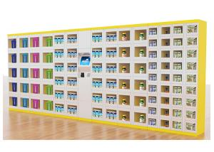 China Outdoor Drink Vending Lockers , Snack Vending Machine With Cash / Cashless Payment on sale