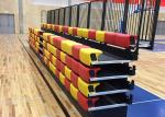 Portable Unit Platfrom Retractable Bleacher Seating Spectator For Gymnasium