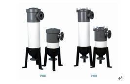 China PVC Bag Filter Housing on sale