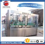 China 3 In 1 Automatic Water Bottle Filling Machine , Water Bottling Equipment Beverage Packaging wholesale