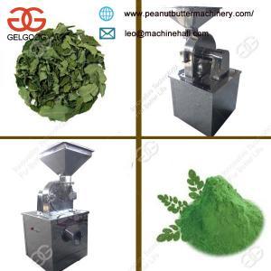 China MultifunctionalDry Moringa Leaves Powder Grinding Machine Low Price on sale