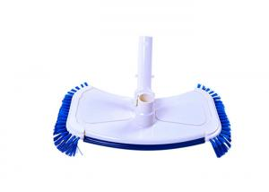 China Swimming Pool Vacuum Head ABS Materials Environmental Friendly With Side Brush on sale