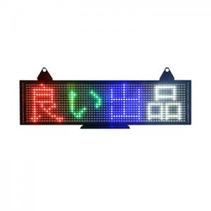 China Single Tri - Color LED Moving Message Display Support P5 World Language on sale