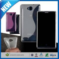 Shock Absorbing S Line Shape Wave ZTE Blade G Lux V830 Personalised Mobile Phone Covers