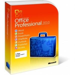 China 2 GB RAM Microsoft Office 2010 Pro Plus Retail Box DVD Activation Easy Operation on sale