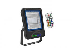 Quality LED RGB Floodlight 30W,Radio Frequency control ,SMD Chips better for heat-dissipation for sale