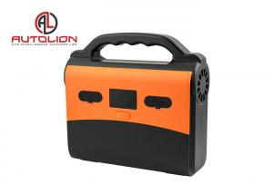 China Automotive Li - lion Battery AC and DC Output Power Supply / Portable Solar Generator With Wall Socket on sale