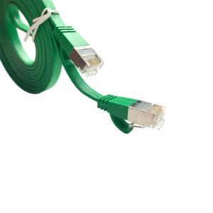 Flat Cat5e LSOH Ethernet Patch Lead PRO SIGNAL 1.5m Grey