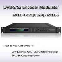 REM7001-20 HD-SDI TO DVB-S/S2 MPEG-2/H.264 HD Encoder Modulator