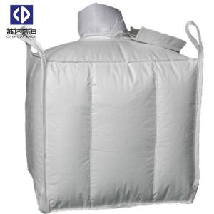 China Baffle FIBC Bulk Bags 1000KG Virgin Polypropylene Material 4 Side Seam Loops on sale