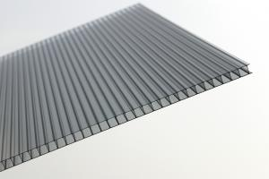 China Double Wall Clear Polycarbonate Roofing Sheets Panels For Greenhouse on sale